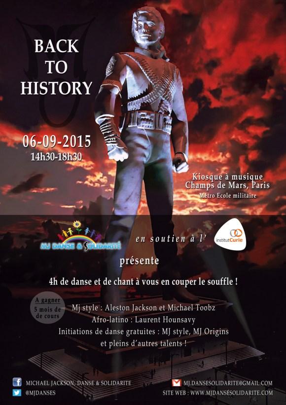 """MJ DANSE ET SOLIDARITÉ SHOW DE RENTRÉE : """"BACK TO HISTORY"""""""