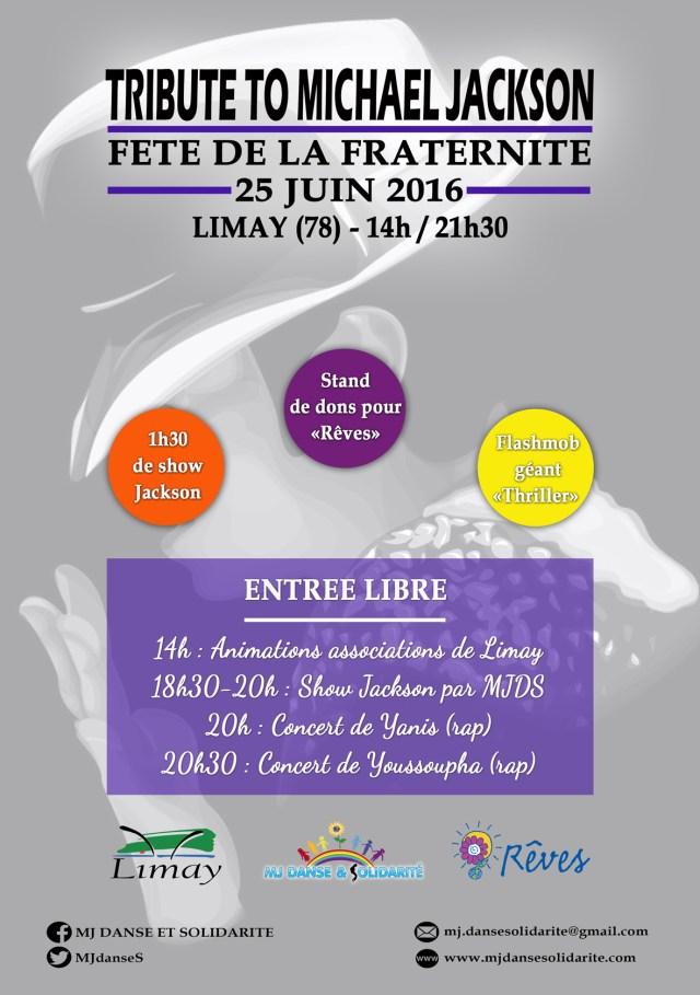 Fête De La Fraternité : Show Michael Jackson + Concert Youssoupha