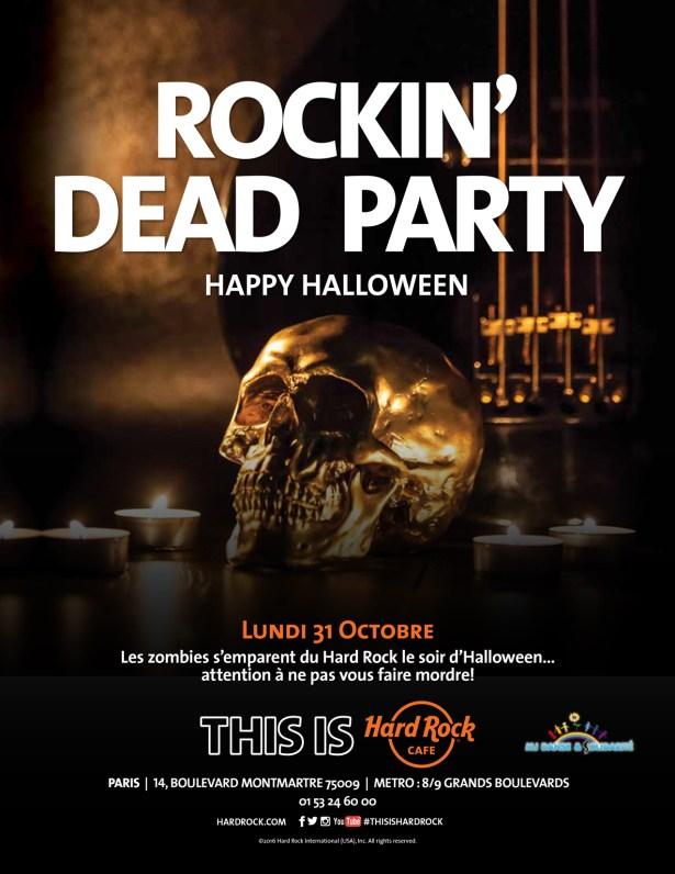 Rockin' dead party Halloween