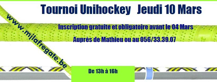 Tournoi Unihockey – 10 Mars 2011