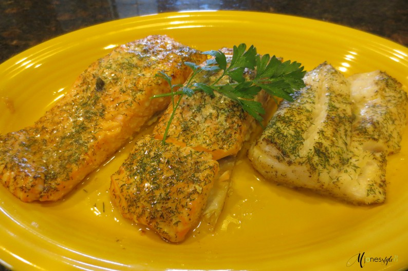 #baked salmon #baked cod