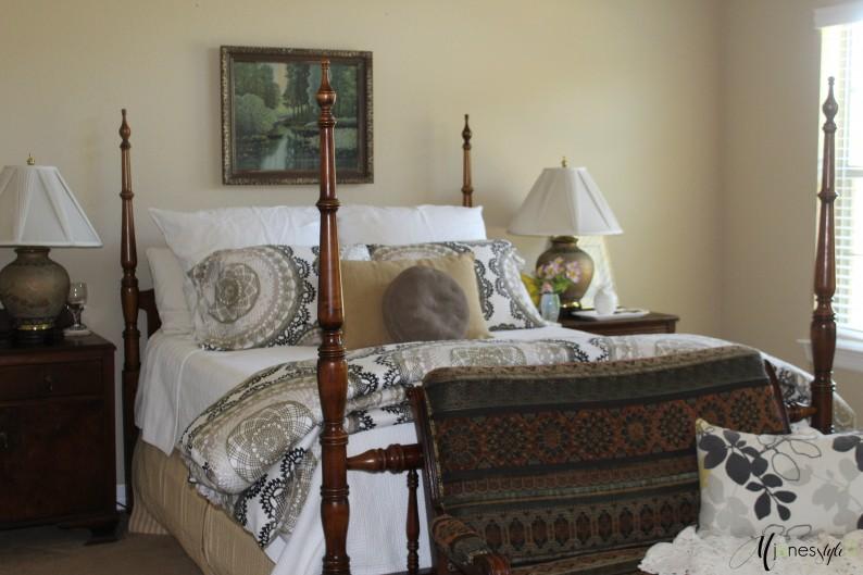 #vintagebedroom