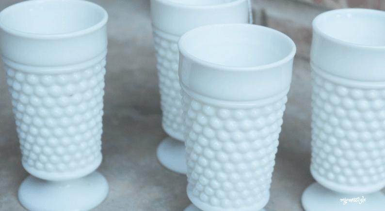 #milkglassjuiceglasses