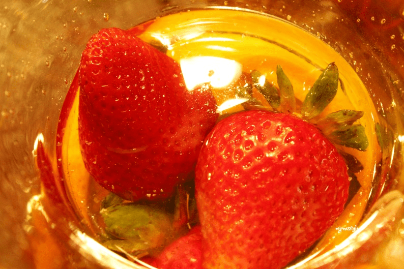#strawberriesinpitcher