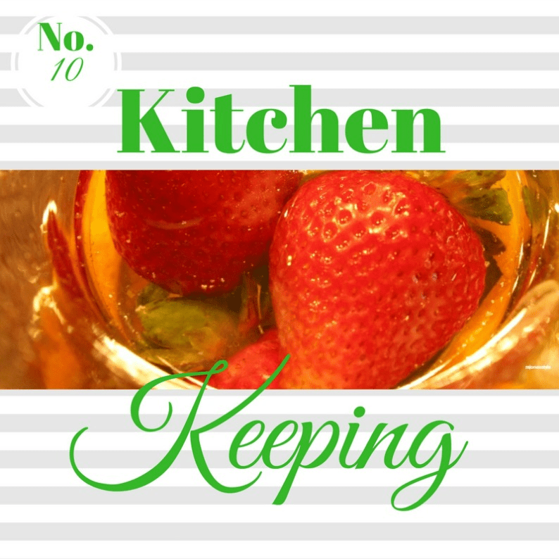 #kitchen keeping #mjonesstyle