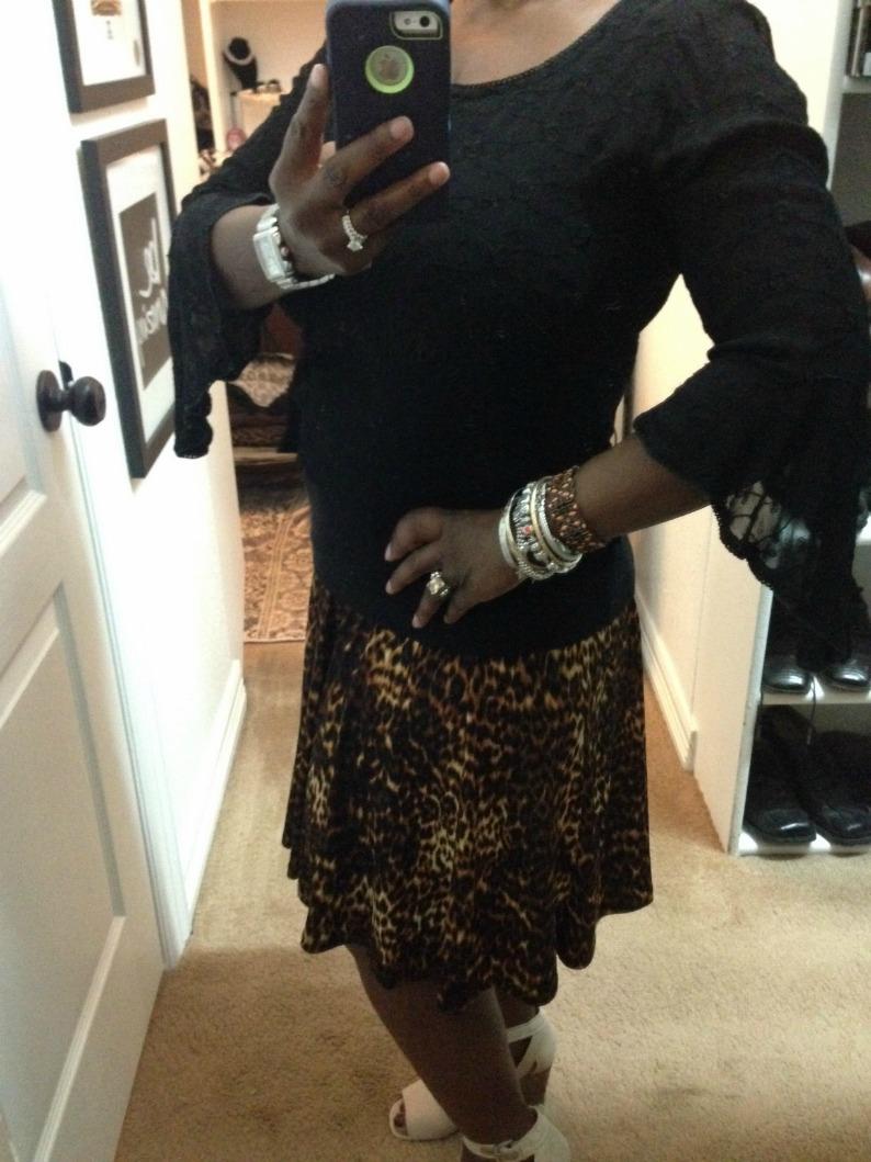 #leopardprintskirt