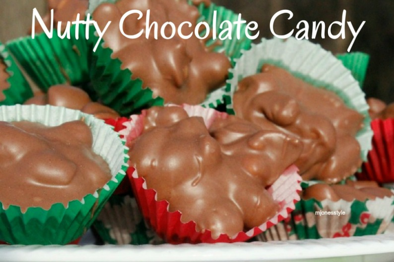 #nuttychocolatecandy #mjonesstylerecipes