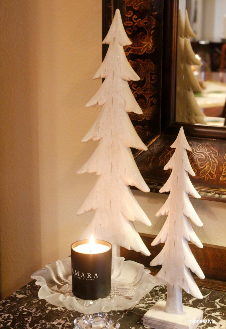 #amaracandle #woodenchristmastrees