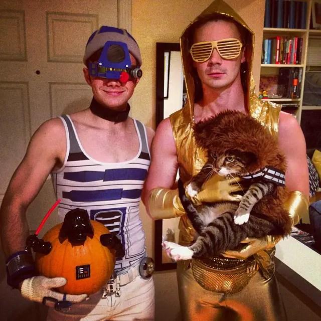 Chris Colfer Will Sherrod Halloween