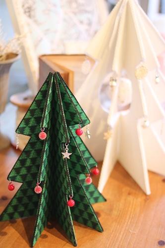 クリスマス柄ミニツリー