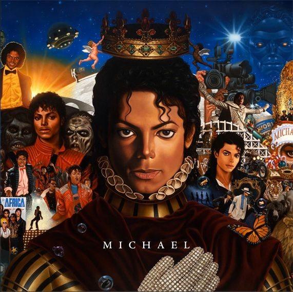 'MICHAEL' album cover