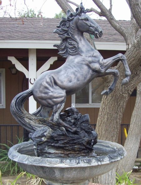 Stallion waterfeature front