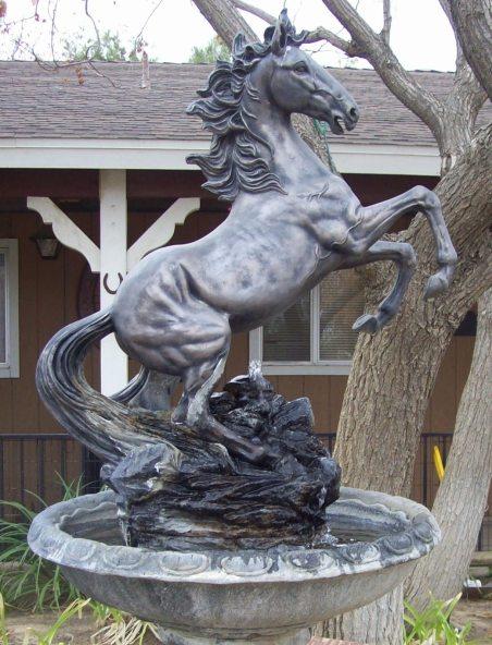 Stallion waterfeature front