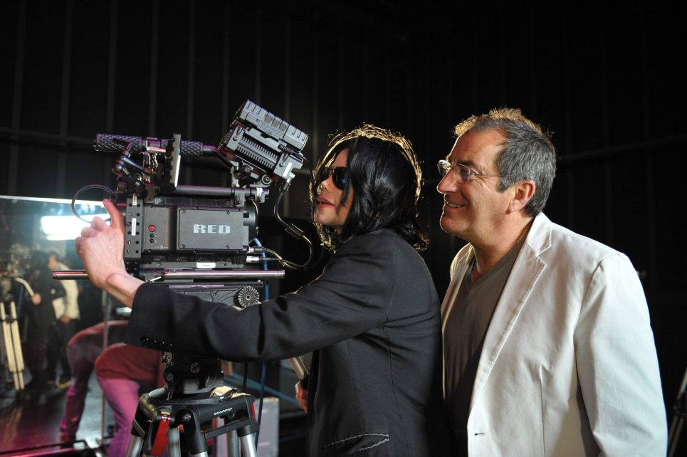 Michael with Kenny Ortega