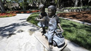 Neverland Statues Being Sold