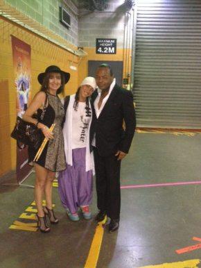 Jonathan Moffet, Cirque performer and Paula