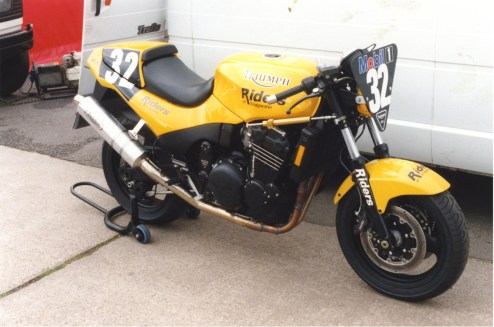 STC - Gallery - Speed Triple Challenge Mallory