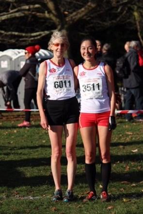November 17: Lara Bromilow and Diane Baldwin in winning