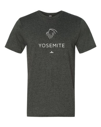 White Yosemite t-shirt