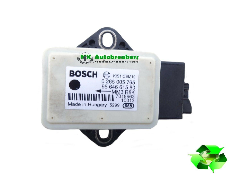 Yaw Rate Sensor >> Peugeot 5008 From 2009 2015 Yaw Rate Sensor