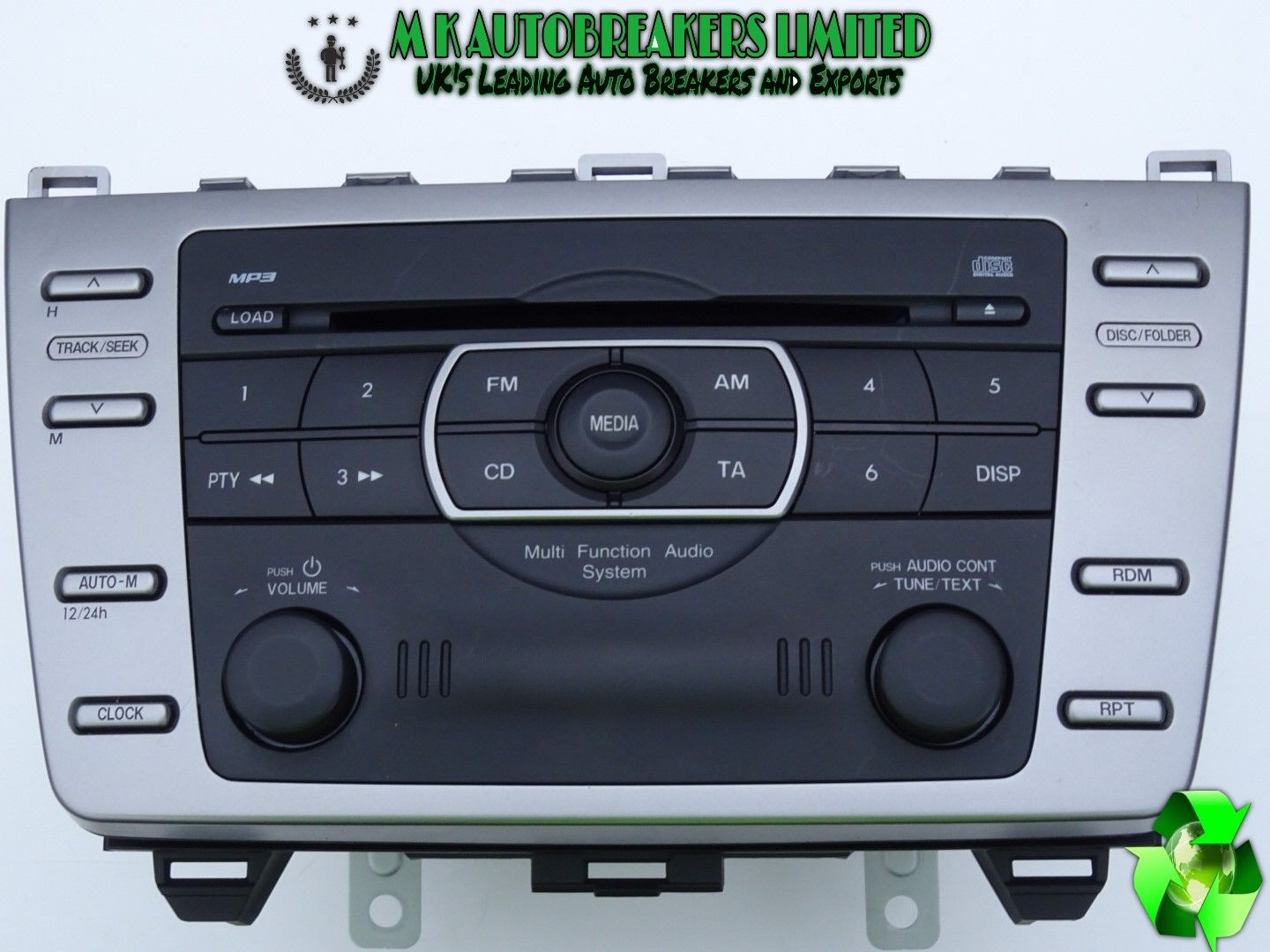 Mazda 6 From 08-12 Radio Stereo CD Player MP3
