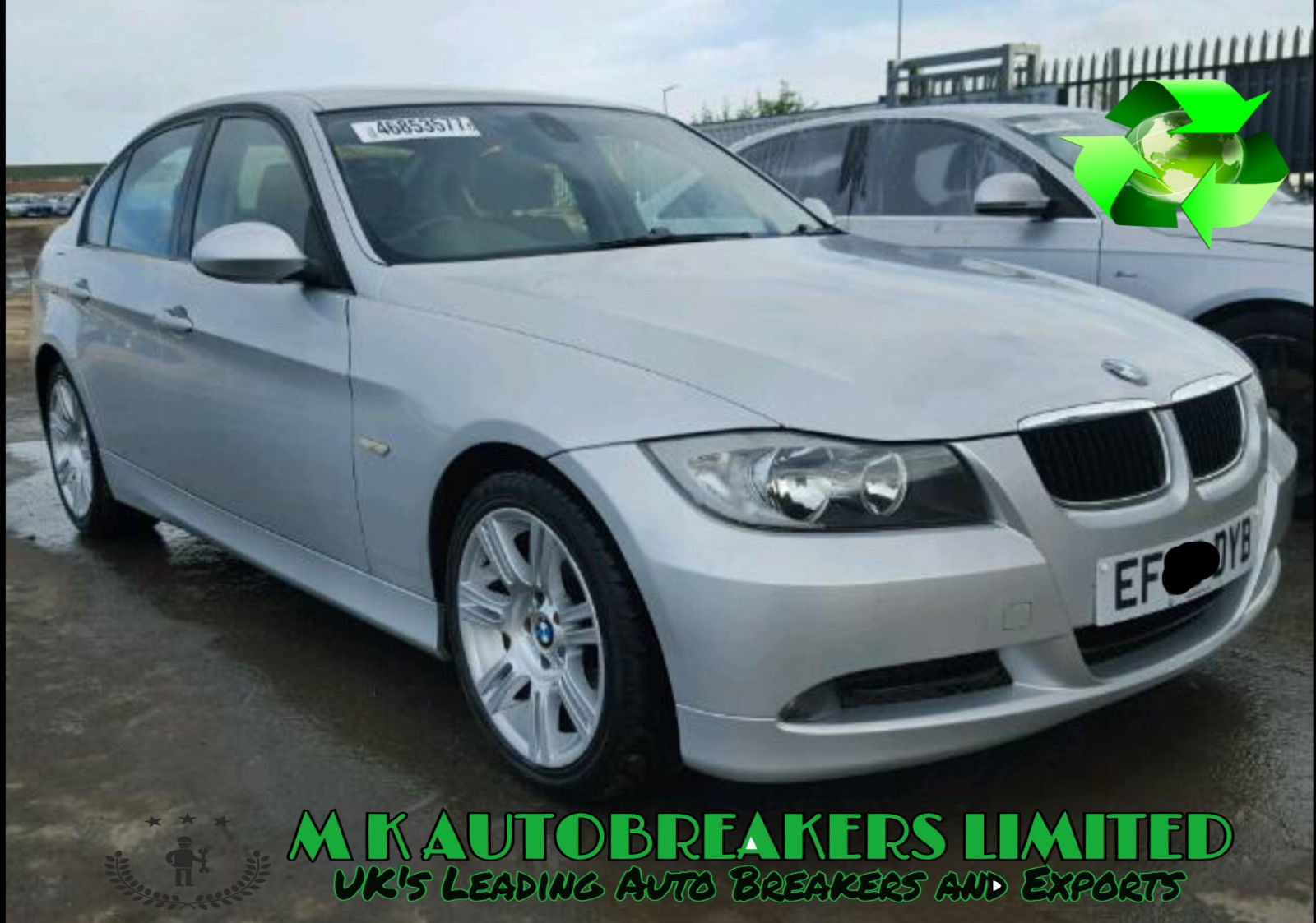 BMW 3 Series E90 E91 From 05-08 ABS Modulator Pump (Breaking For Parts)