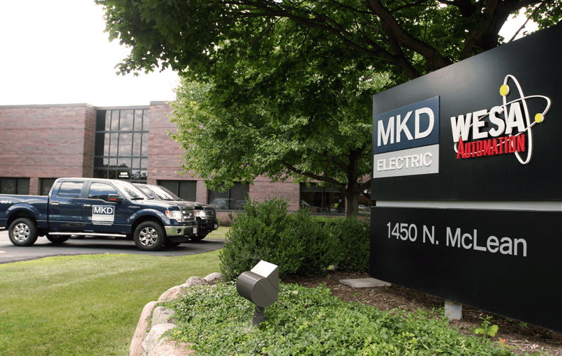 MKD Electric Elgin Headquarters