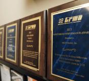 TRMA Gold and Meritorious Awards