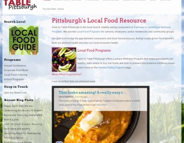 Calling all Locavores: Farm to Table Pittsburgh