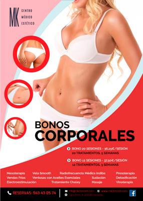Bonos Corporales en MK Donosti