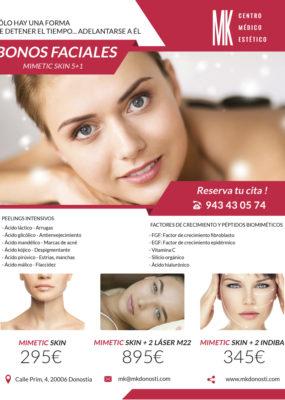 MK Centro Médico Estético: Oferta Bonos Faciales