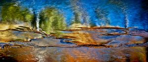 Emma Kelly - 'Liquid Landscape' - (42cm x 75cm)