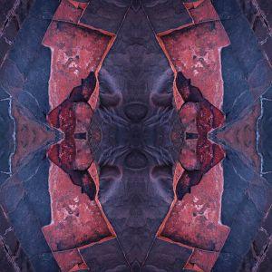 Mark Kelly - 'Wisdom' - (98cm x 98cm)