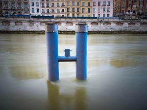 """""""Blue Poles"""""""