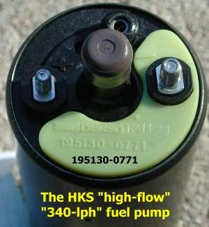HKS 340 lph pump 1