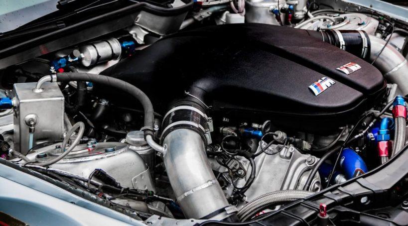 Start the engine and listen for noises