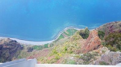 Cabo Girão, à 589m de haut...