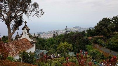 Funchal en contrebas