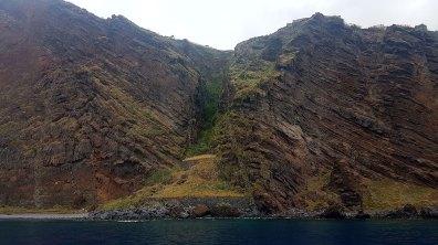 Retour sur Funchal en longeant la côte vers l'est