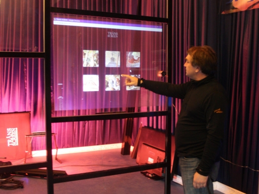 Holographic Projection Display