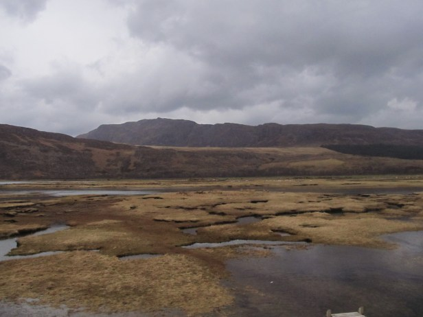 Little Loch Broom at the low tide