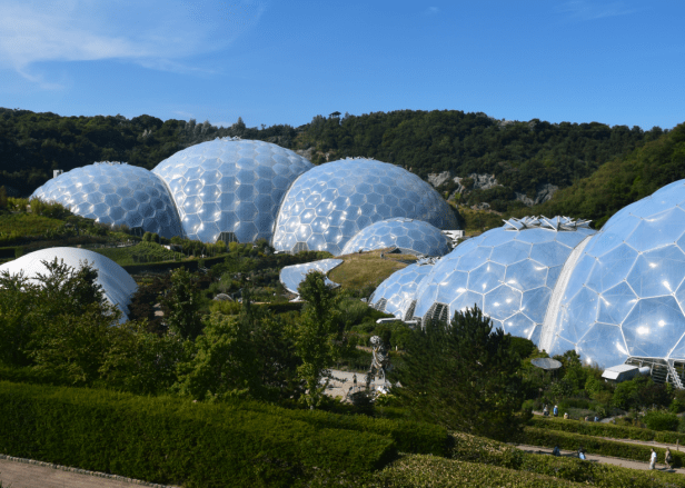 Eden Project outside view