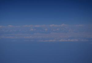 Mount Everest Emirates Dubai Manila flight