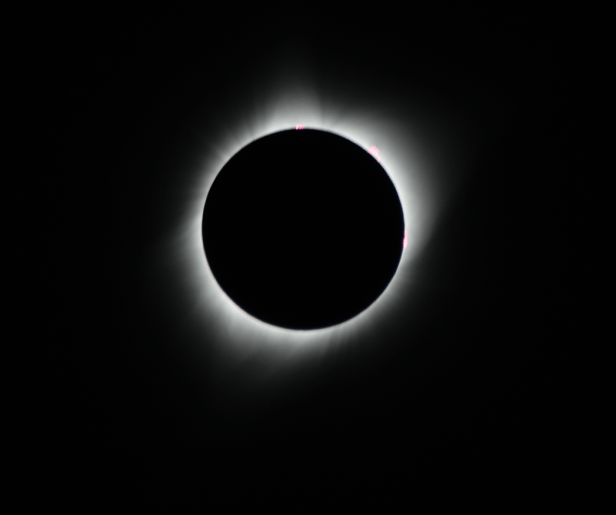 Total solar eclipse 2017 seen from Wyoming2