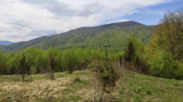 Beskydec from east