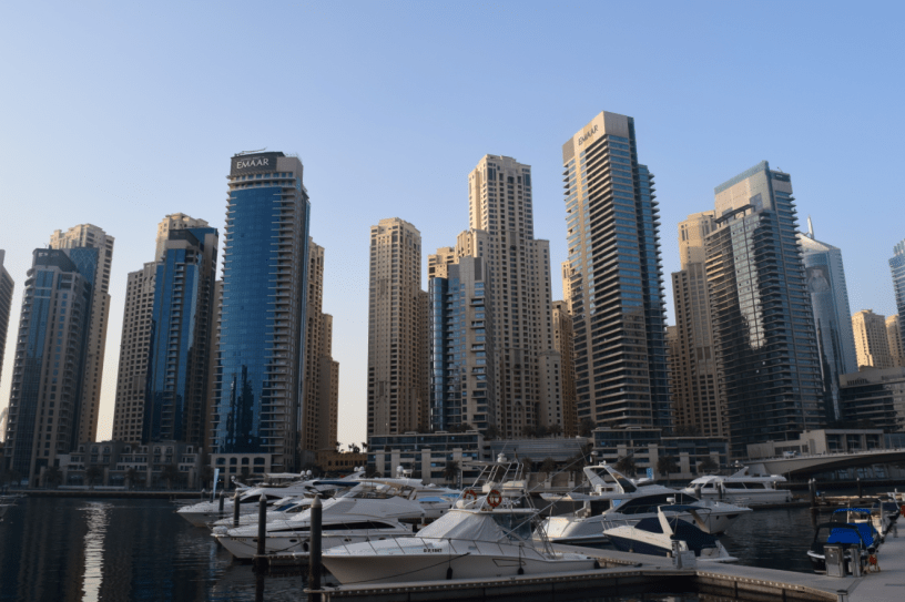 Dubai Marina - typical view
