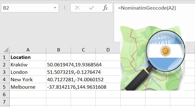 Nominatim geocoding