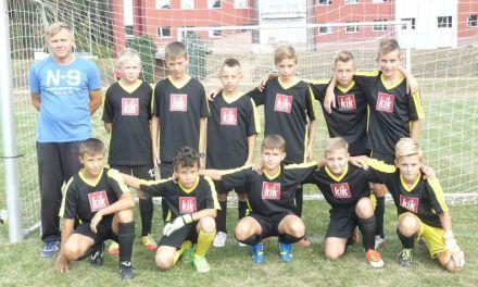Zwycięstwo młodzików w Jaroszowicach