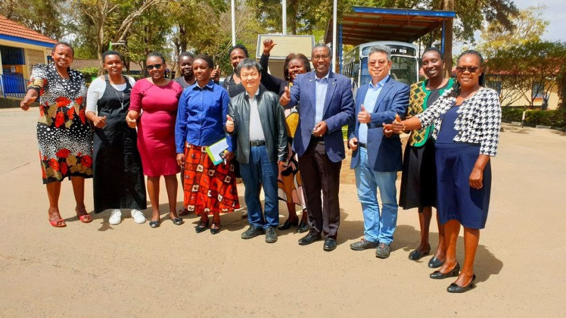 EXPLORATORY VISIT TO ESTABLISH STRATEGIC LINKAGES BETWEEN HUNAN UNIVERSITY AND MACHAKOS UNIVERSITY ON 27TH AUGUST 2019