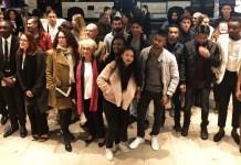 Diner au Gray d'Albion pour les jeunes de la Mission Locale Cannes Pays de Lérins